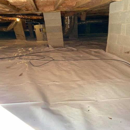 elite pest solutions moisture barrier